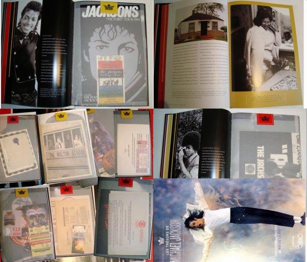 [Livre] Les trésors de Michael Jackson, souvenirs et photos du Roi de la Pop... 2838978574_1